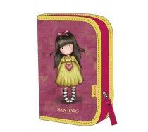 Santoro Kihajtható tolltartó, Gjs-Heartfelt, 14x5x21 cm